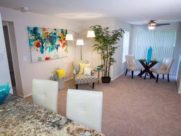 Living Room - Deer Meadow - Jacksonville, FL
