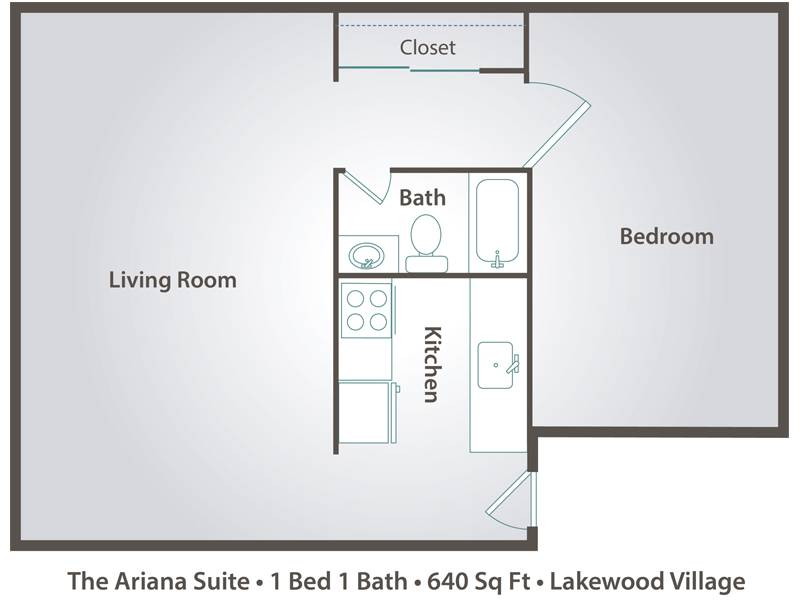 The Ariana Suite - 1 Bedroom / 1 Bathroom Image