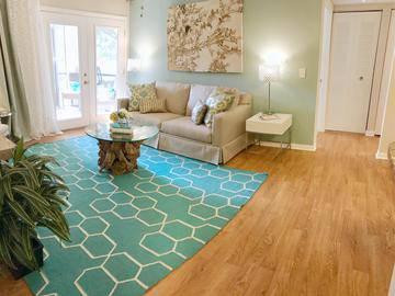 Living Room - The View at Waters Edge - Lantana, FL