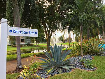 Located on Reflections Boulevard - The View at Waters Edge - Lantana, FL
