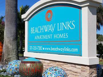Front Entrance Sign - Beachway Links - Melbourne, FL