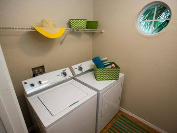 Laundry Room - Beachway Links - Melbourne, FL