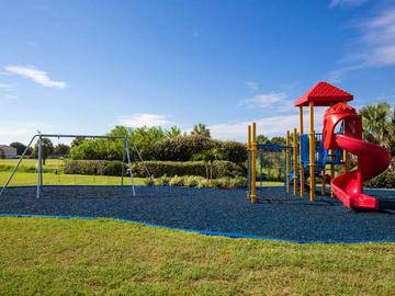 Playground and Swings - Beachway Links - Melbourne, FL