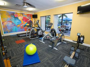 Fitness Center - Grand Oaks at the Lake - Melbourne, FL