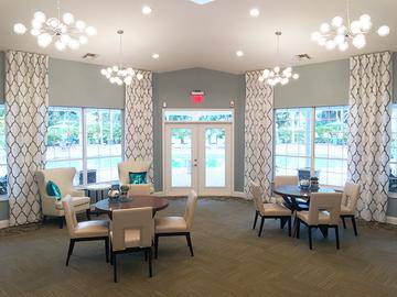 Leasing Office Interior - Meadow Lakes - Naples, FL