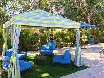 Poolside Cabanas - Meadow Lakes - Naples, FL