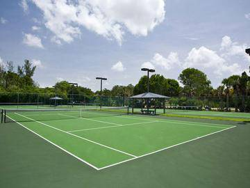 Lighted Tennis Courts - River Reach - Naples, FL