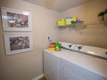 Laundry Room in Every Home - Somerset Palms - Naples, FL