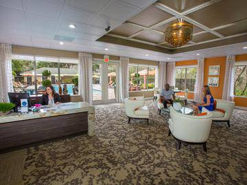 Leasing Office Interior - Somerset Palms - Naples, FL