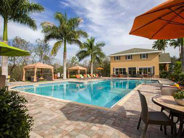 Resort-Style Swimming Pool - Somerset Palms - Naples, FL