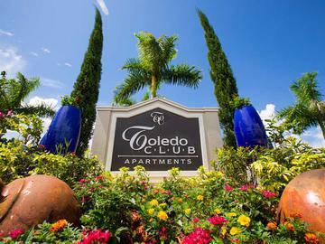 Front Sign - Toledo Club - North Port, FL