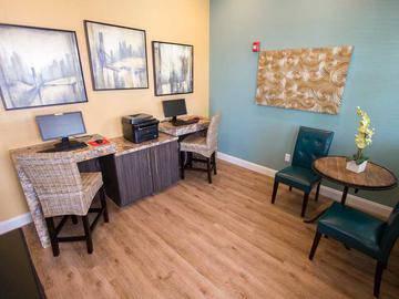 Business Center - Toledo Club - North Port, FL