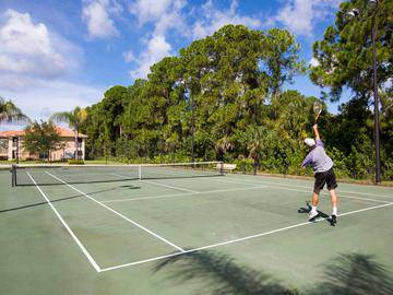 Tennis Court - Toledo Club - North Port, FL