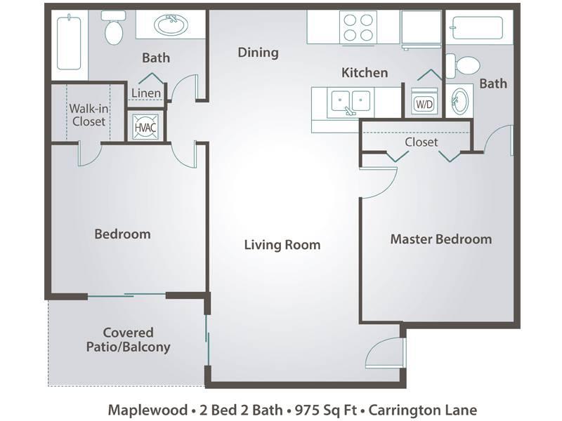 Maplewood - 2 Bedroom / 2 Bathroom Image