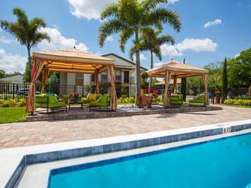 Poolside Cabanas - Adele Place - Orlando, FL