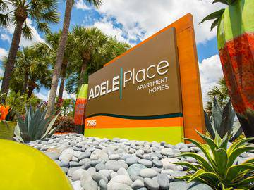 Sign - Adele Place - Orlando, FL