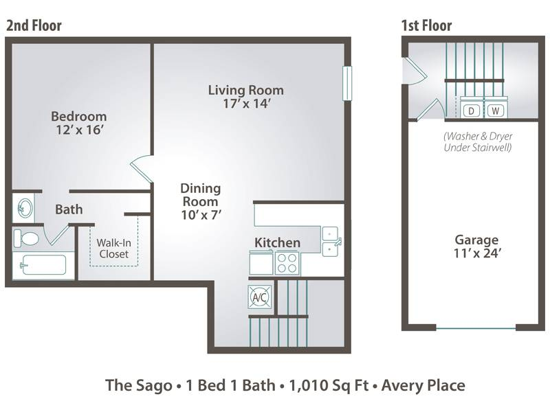 The Sago - 1 Bedroom / 1 Bathroom Image