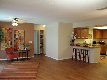 Open Living Room and Kitchen - Avery Place Villas - Orlando, FL