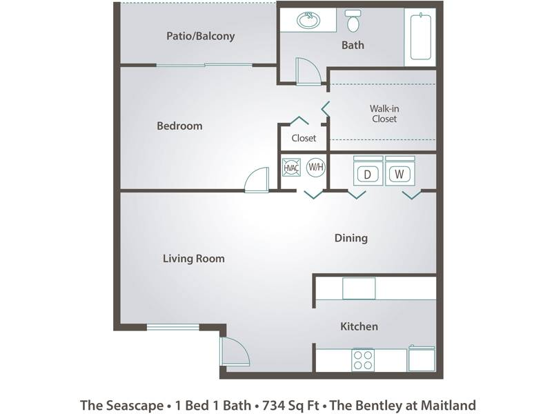 The Seascape - 1 Bedroom / 1 Bathroom Image