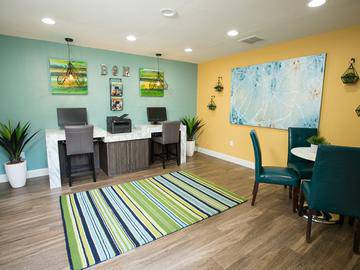 Business Center - The Bentley at Maitland - Orlando, FL