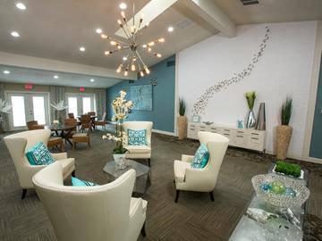 Clubhouse Interior - The Bentley at Maitland - Orlando, FL