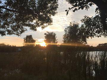 Sunset at Lake Lockhart - The Bentley at Maitland - Orlando, FL