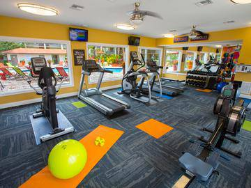 Fitness Center - The Pavilions at Monterey - Palm Bay, FL