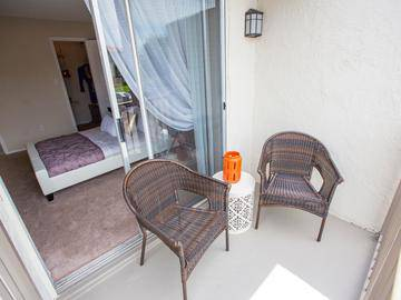 Private Balcony - The Pavilions at Monterey - Palm Bay, FL