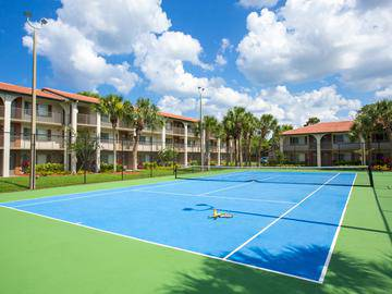 Tennis Courts - The Pavilions at Monterey - Palm Bay, FL