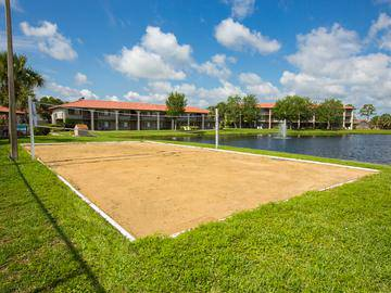 Volleyball Court - The Pavilions at Monterey - Palm Bay, FL