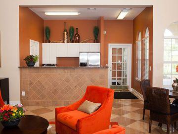 Clubhouse Kitchen with Coffee Bar - Pine Lake - Palm Coast, FL