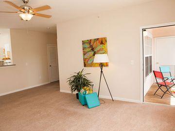 Living Room with Balcony - Pine Lake - Palm Coast, FL