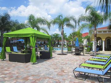 Poolside Cabanas with Wi-Fi - Pine Lake - Palm Coast, FL