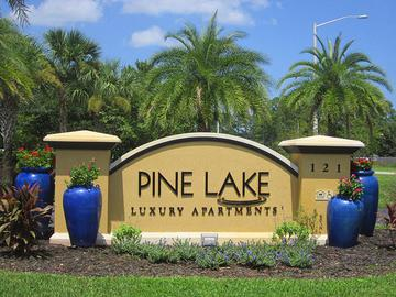 Front Entrance of Pine Lake in Palm Coast - Pine Lake - Palm Coast, FL
