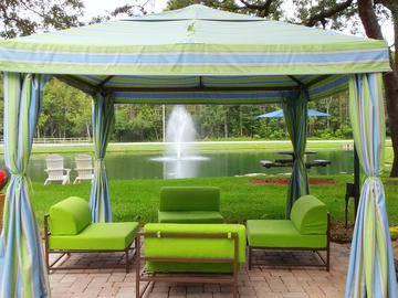 Lounge Area - Stillwater Palms - Palm Harbor, FL