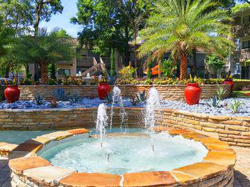 Poolside Fountain - Stillwater Palms - Palm Harbor, FL