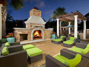Outdoor Fire Pit - Waterstone at Jenks - Panama City, FL