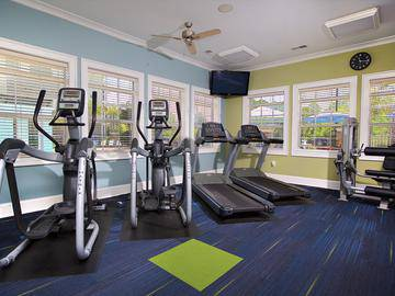 Fitness Center - Waterstone at Jenks - Panama City, FL
