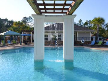 Pool with Waterfall - Waterstone at Jenks - Panama City, FL