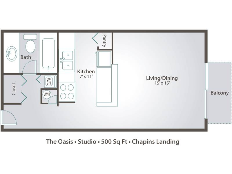 Studio Apartments Floor Plans studio apartment floor plans & pricing – chapins landing, pensacola fl