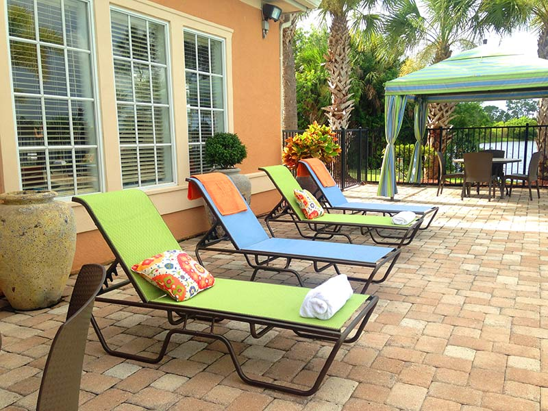 Loungers · Outdoor Fire Pit   Lakes Of Tuscana   Port Charlotte, FL
