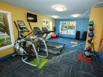 Fitness Center - The Lakes at Port Richey - Port Richey, FL
