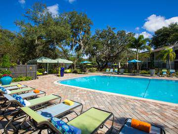 Poolside Loungers - The Lakes at Port Richey - Port Richey, FL