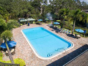 Expansive Sundeck - The Lakes at Port Richey - Port Richey, FL