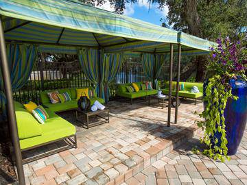 Poolside Cabanas - The Lakes at Port Richey - Port Richey, FL