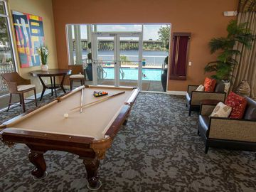 Billiards Room - Preserve at Alafia - Riverview, FL