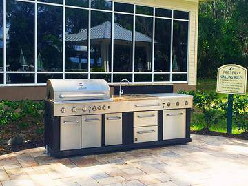 Gourmet Poolside Kitchen - Preserve at Alafia - Riverview, FL
