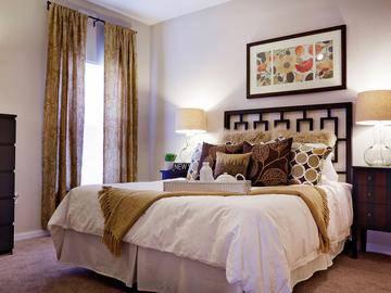 Bedroom - Soleil Blu Luxury Apartments - St Cloud, FL