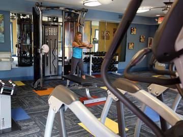 Fitness Center - Soleil Blu Luxury Apartments - St Cloud, FL