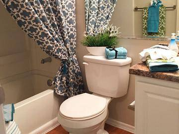 Bathroom - Springwood Townhomes - Tallahassee, FL
